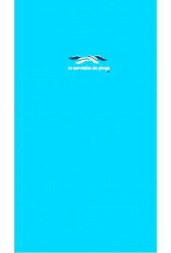 Serviette de bain Uni Turquoise