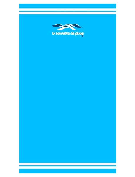 Drap de bain Turquoise Coco