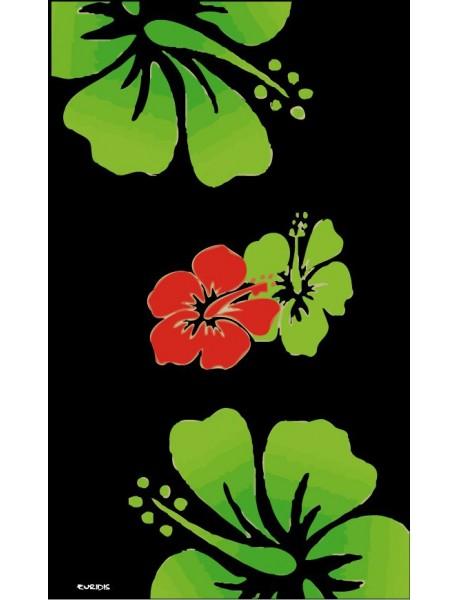Paréo Hawai Black
