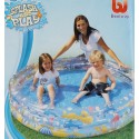 Piscine gonflable ronde 152x30cm
