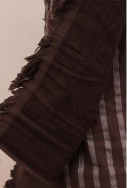 Fouta Alanya Chocolat 80x150cm