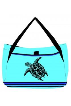 Sac de plage Turquoise Turtle
