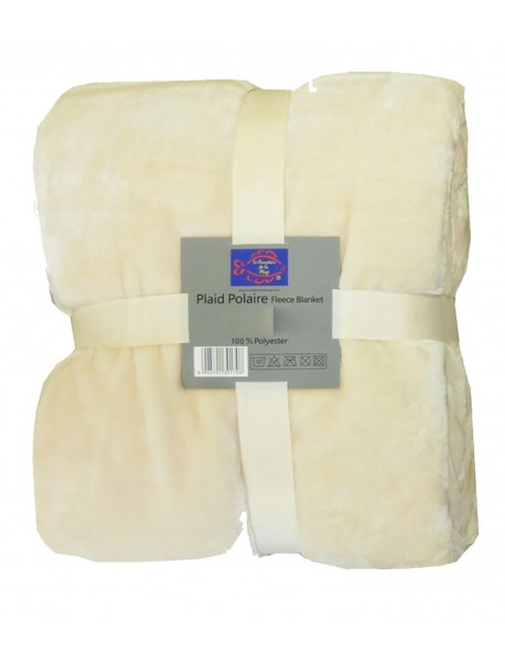 Plaids polaire Mouton Naturel