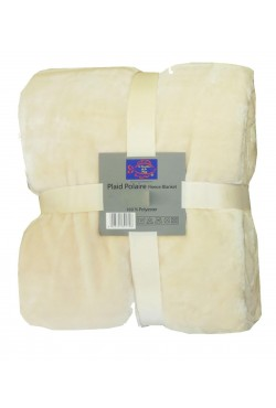 Couverture Polaire Mouton Naturel