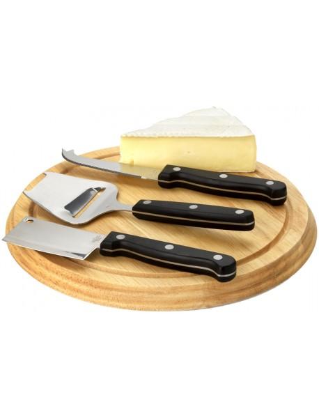 Set à fromages 4 pièces Marron