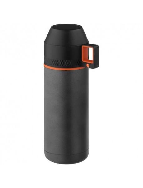 Flasque Isotherme Nakiska Gris Noir Orange