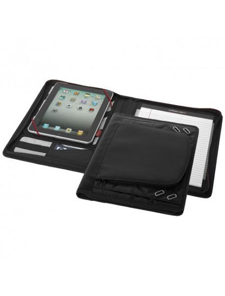 Étui iPad avec bloc-notes Noir