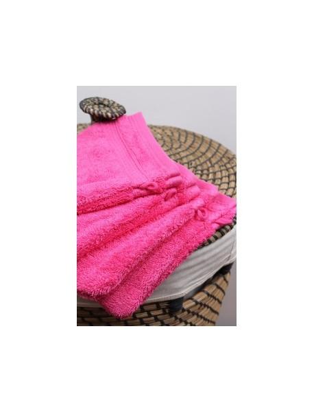 Linge de bain Naïa couleur Fuchsia