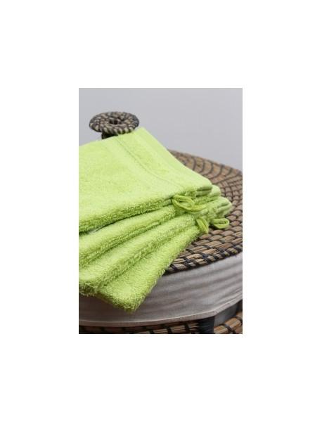Linge de bain Naïa couleur Anis
