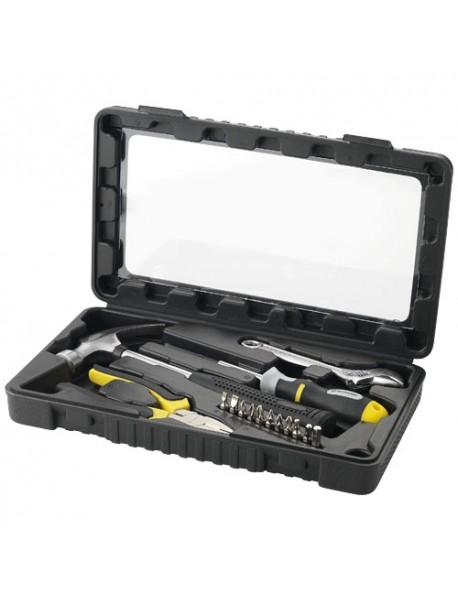 Set outils 15 pièces Noir Jaune