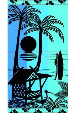 Serviette de plage Waikiki
