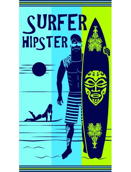 Serviette de plage Hipster