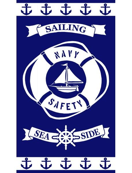 Serviette de plage Sailing