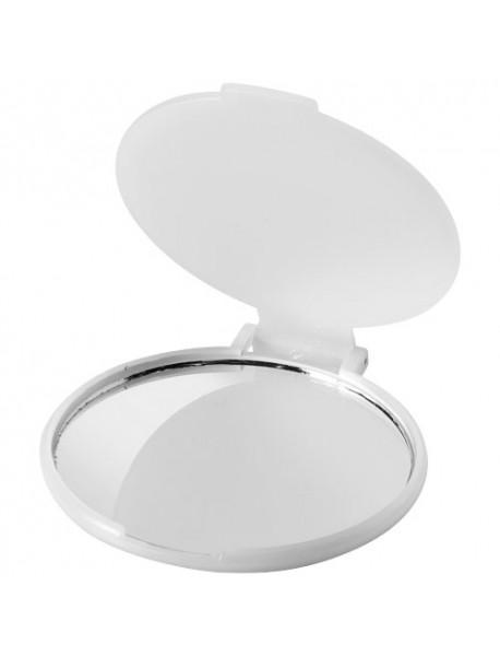 Miroir glamour Carmen, blanc translucide