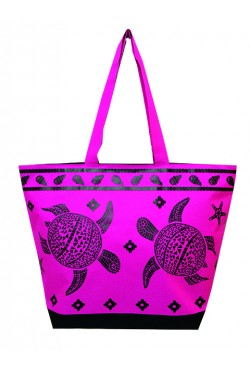 Sac de plage Turtle Pink