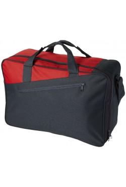Petit sac de voyage Portland, noir / rouge