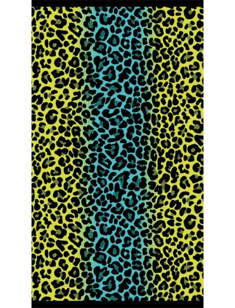 Drap de plage Cheetah Anis