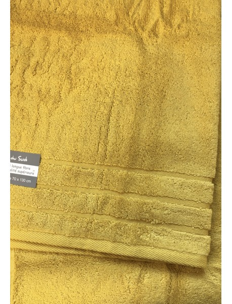Linge de bain Callisto couleur Curry