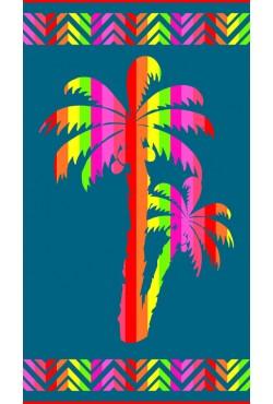 Drap de plage Bermude Vert