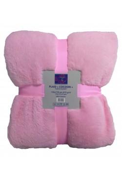 Plaids polaire COCOON Pink