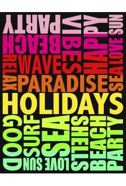 Drap de plage XXL Paradisio