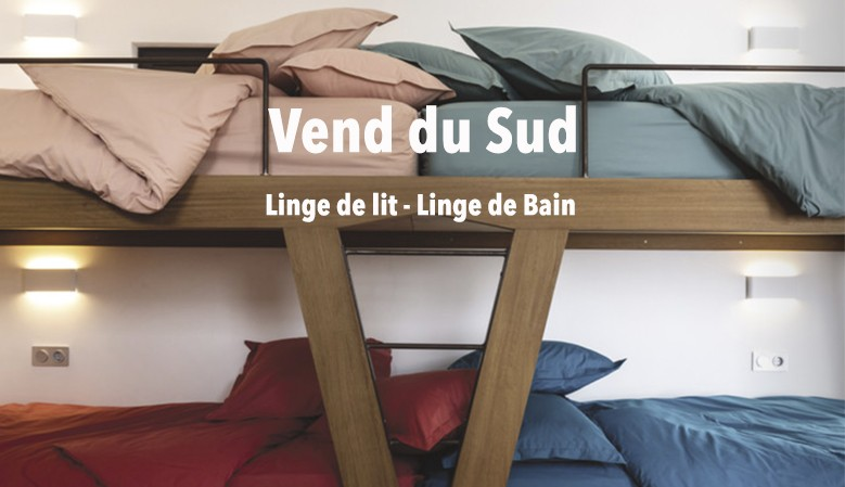 Linge de maison de la Collection Vend du Sud